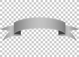 丝带横幅,银色透明横幅,灰色丝带PNG剪贴画角度,桌面壁纸,色带和