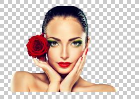 美容院模型化妆品制作,向上,美容院的PNG剪贴画名人,脸,女人,唇,