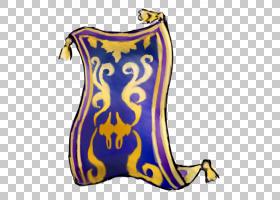 茉莉公主阿拉丁伊阿古的魔法地毯,魔毯的PNG剪贴画紫色,魔术,地毯