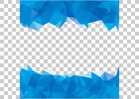 蓝色多边形抽象,天蓝色多边形抽象背景,蓝绿色和蓝色相框PNG剪贴