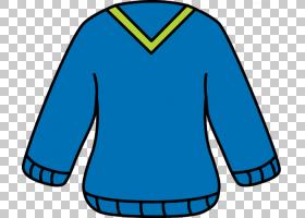 连帽衫T恤毛衣圣诞跳线,开衫的PNG剪贴画blue,royaltyfree,top,el