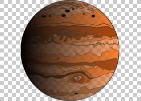 木星,木星PNG剪贴画图像文件格式,地球仪,橙色,球体,动画,星球,pi