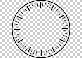 钟面EXIT圣克鲁斯,时钟没有手文件,圆形黑色模拟时钟PNG剪贴画角