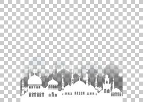 伊斯兰教斋月清真寺,伊斯兰清真寺建筑学,白色清真寺PNG剪贴画角,