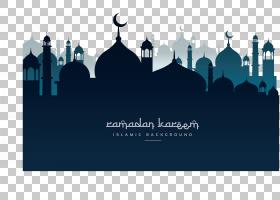 斋月清真寺开斋节开斋节Eid Mubarak,教堂海报在晚上,斋月Kareen