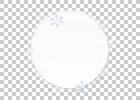 圆形区域图案,白色圆圈画雪花图案PNG剪贴画边框,水彩画,角度,白