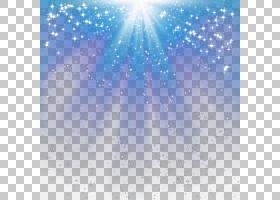 照明,径向光效果,蓝色和白色星空表面PNG剪贴画纹理,蓝色,大气,云