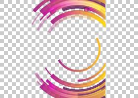 圆形抽象抽象微分几何,五颜六色的抽象几何圈子,圆的蓝色,桃红色
