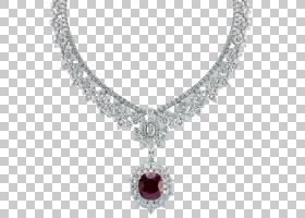 项链首饰Mouawad钻石祖母绿,项链PNG剪贴画宝石,服装,钻石,精致,图片