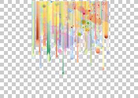 水彩画版税,,渐变,背景装饰图案,海报,横幅背景,线,红色,黄色和绿