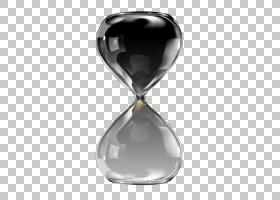 沙漏时钟,墨水沙漏PNG剪贴画玻璃,装饰,时间,墨水标记,黑色,封装P
