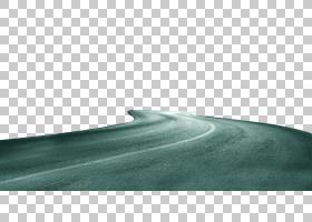 深青色天空角度,绿色简单的道路装饰样式PNG clipart简单,电脑,蓝