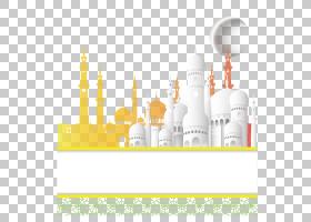 清真寺伊斯兰教,创意清真寺,穆斯林建筑,海报,背景,白色和棕色大