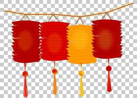日本纸灯笼,农历新年照片PNG剪贴画灯笼,假期,橙色,元宵节,新年快