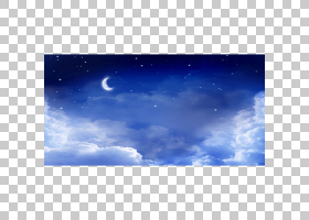 天空桌面大气的地球云,繁星之夜PNG剪贴画蓝色,大气,摄影,电脑壁
