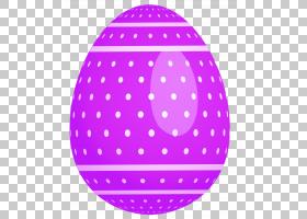 复活节兔子复活节彩蛋,紫色点缀复活节彩蛋,紫色和白色圆点蛋插图
