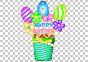 复活节兔子复活节彩蛋复活节篮子,复活节桶装饰,复活节快乐图形PN