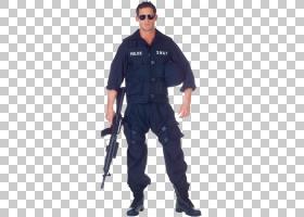 万圣节服装特警服装背心,特警PNG剪贴画T恤,拉链,警察,人,成人,服