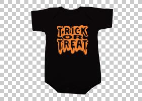 T恤万圣节卡捣蛋颜色大师,伎俩或Treath PNG剪贴画T恤,万圣节服装