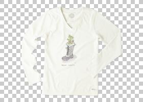 T恤袖子服装外套脖子,妇女节快乐PNG剪贴画T恤,白色,衣服,长袖T恤