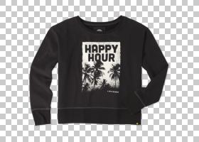 T恤袖毛衣服装连帽衫,妇女节快乐PNG剪贴画T恤,帽衫,黑色,女人,顶