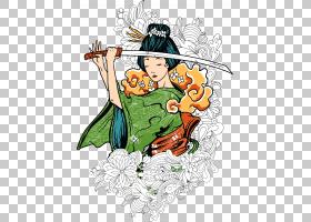 T恤日本艺妓,艺伎PNG剪贴画食品,花卉,虚构人物,女人,女性,t恤,树