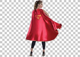 超人Supergirl卡拉Zor-El T恤披风,超人PNG剪贴画英雄,万圣节服装
