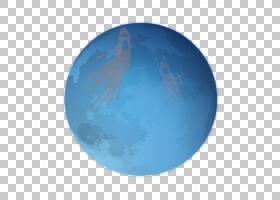 地球农历新年元旦,万圣节月亮PNG剪贴画蓝色,万圣节快乐,全球,气