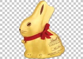复活节兔子Lindt金兔子巧克力兔子,金兔子PNG剪贴画基督教,金色框