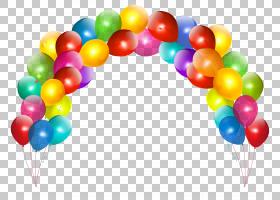 气球,气球拱,多彩多姿的气球拱PNG剪贴画生日快乐,剪贴画,婚礼,周