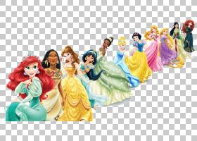 百丽迪士尼公主,迪士尼公主,迪斯尼公主插图PNG剪贴画儿童,华特迪