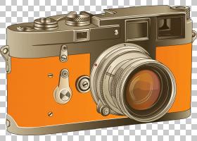 相机镜头数码相机摄影,相机PNG剪贴画卡通,动画,无反光镜可互换镜