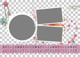 文本框架品牌红色图案,日历模板PNG剪贴画矩形,产品,图片框架,设