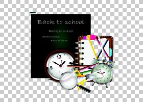 学习插图,黑板和学习工具PNG剪贴画文字,摄影,学校用品,卡通,剪刀
