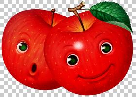 Apple Drawing水果卡通,苹果水果PNG剪贴画食品,草莓,橙色,剪纸,