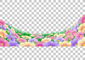 花草,美丽的植物的PNG剪贴画紫色,插花,紫罗兰,电脑壁纸,草,花园,