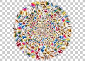 Psychedelia Art Superflat我的初恋花,爆炸PNG剪贴画杂项,其他,