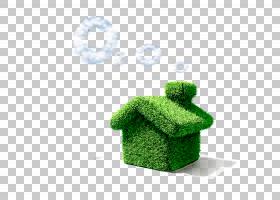 保温建筑材料商业楼,绿屋PNG剪贴画建筑,叶子,房屋,草,绿苹果,材图片