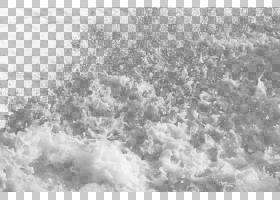 海浪png素材 (4)