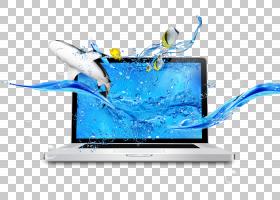 笔记本电脑固态硬盘USB Wi-Fi适配器,笔记本电脑PNG剪贴画电子,数
