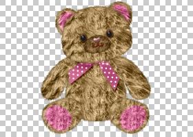 泰迪熊娃娃,熊娃娃PNG剪贴画杂项,纺织品,卡通,封装的PostScript,