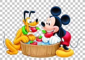 米老鼠冥王星米妮高飞,米老鼠,米老鼠和冥王星PNG剪贴画食品,英雄