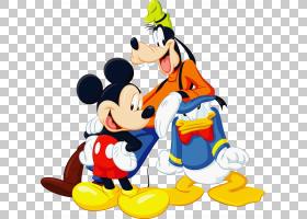 米老鼠高飞米妮唐老鸭冥王星,米奇米妮PNG剪贴画英雄,沃尔特迪斯