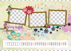 花婚礼,日历模板PNG剪贴画图像文件格式,文本,封装的PostScript,