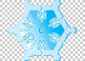 蓝色,雪花PNG剪贴画蓝色,对称性,雪花,卡通,电动蓝色,浅绿色,有机