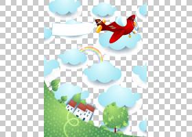 飞机股票图Shutterstock,天空,红色飞机和云PNG剪贴画其他,气球,