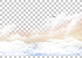 飞机飞行跑道,白云,云,云,客机飞行在天空PNG剪贴画纹理,云,计算