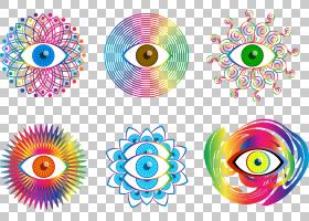 麦角酰二乙胺迷幻药,华丽的眼睛,捕捉眼睛PNG剪贴画螺旋,人,对称