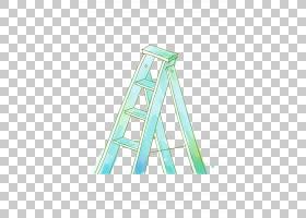 梯子图,手绘梯PNG剪贴画水彩绘画,角度,画,手,三角形,技术,手绘,