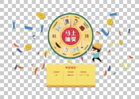 彩票轮PNG剪贴画文字,标志,彩带,黄金,卡通,封装的PostScript,设